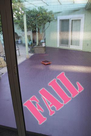 Porch Failure