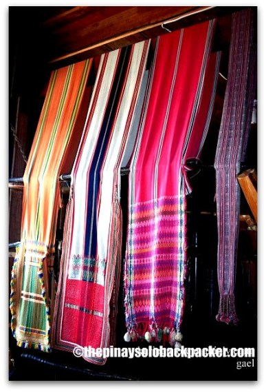 Sagada weaving photo