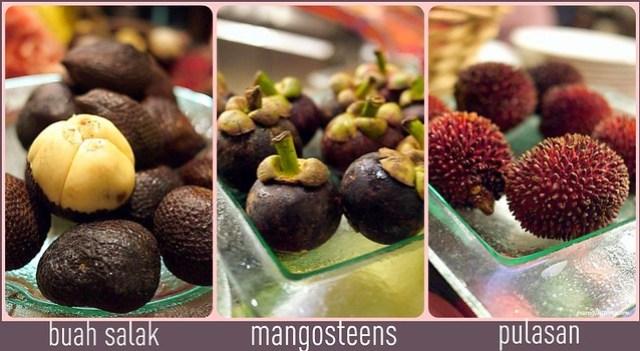 frutis collage