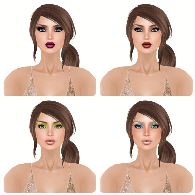 -Glam Affair- Amelie - Natural - 00 10 11 12