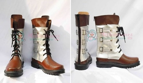 2-Final Fantasy Snow Villiers Cosplay Boots