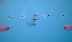 """Red Arrows head-on • <a style=""""font-size:0.8em;"""" href=""""http://www.flickr.com/photos/59278968@N07/6325041861/"""" target=""""_blank"""">View on Flickr</a>"""