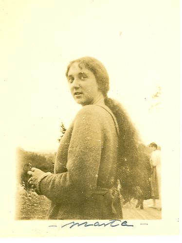 Carmen Bellido de joven