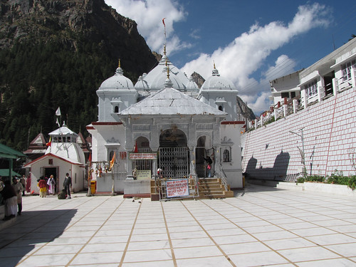 The Sacred Temple at Gangotri