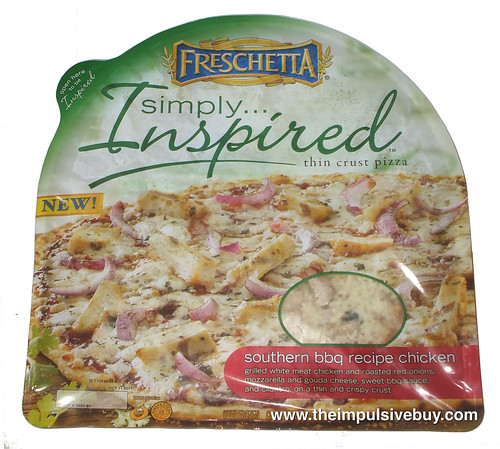 Freschetta Simply Inspired Southern BBQ Recipe Chicken Pizza
