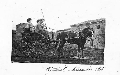 Paseando por la finca de Gañarul (Zaragoza)