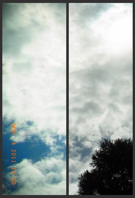 金曜日曇り空
