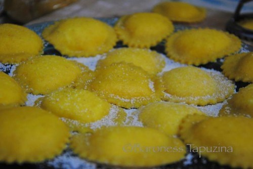 Lemon and Goat's Cheese Ravioli – Baroness Tapuzina