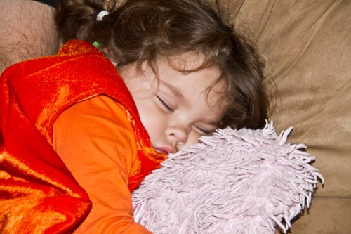 one tired pumpkin