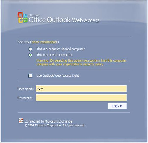 OWA: Version Online del Outlook