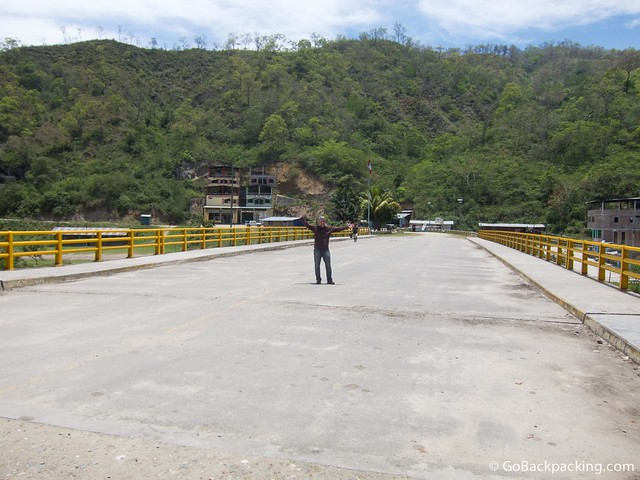 Ecuador - Peru border at La Balsa