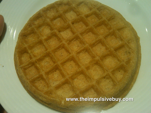 Eggo Seasons Limited Edition Pumpkin Spice Waffles Closeup