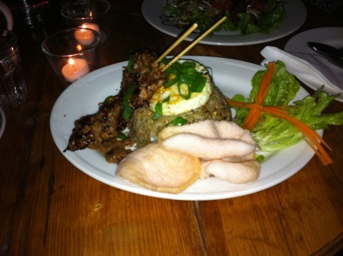 Nasi Goreng Special at Sweet Java
