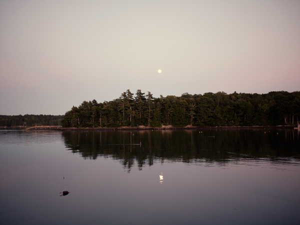 Full Moon Rising Maine 5