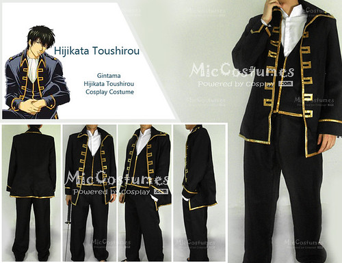 Gintama Okita Sougo Cosplay costume