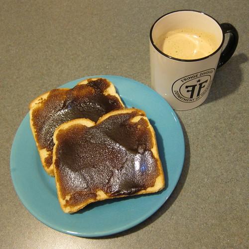 Breakfast, Monday August 22nd