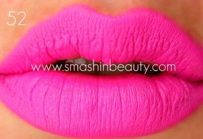 Barry M lipstick 52 shocking pink