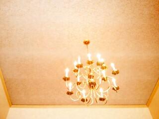 Scream Sorbet chandelier