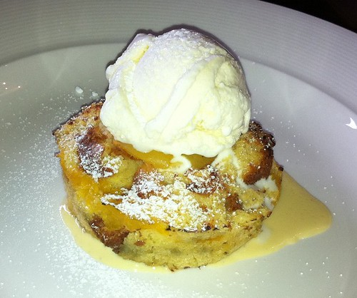 Apricot Bread & Butter Pudding at West End Deli