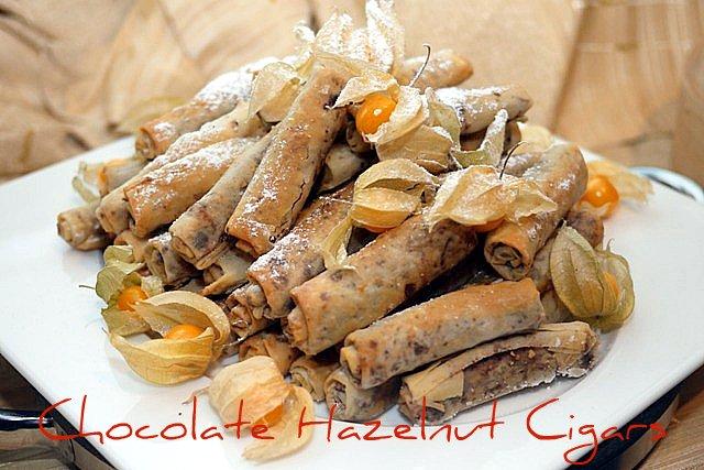 choc hazelnut cigars