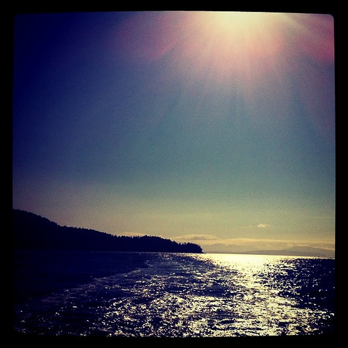 Pender Island - on the ocean