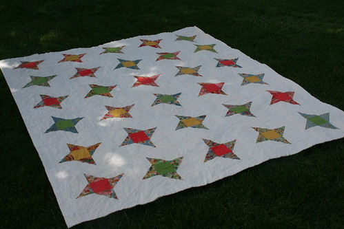Friendship Stars by kate @ swim, bike, quilt!