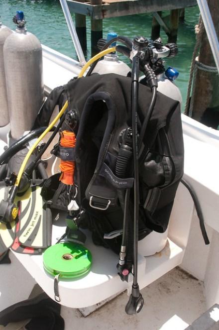 Scuba equipment Utila
