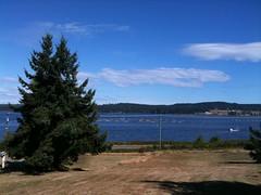Baynes Sound view