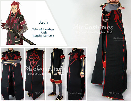 Tales of the Abyss Asch Cosplay