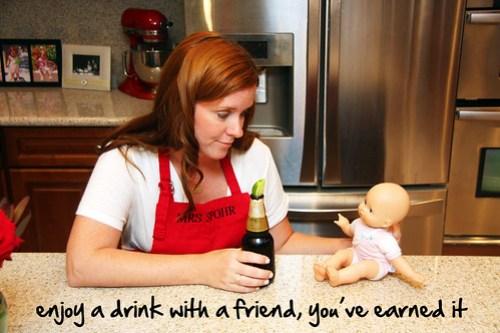 enjoy a beverage