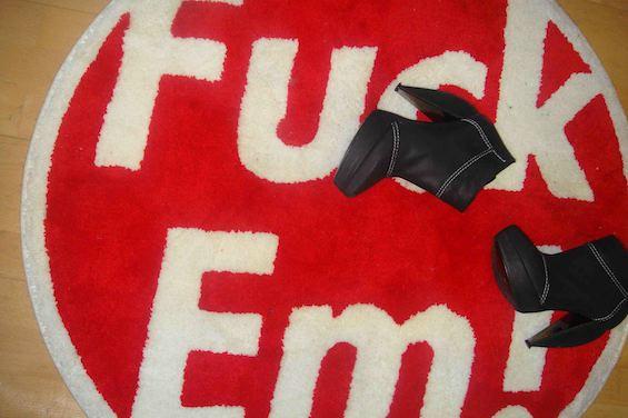 Mandi Supreme Rug x Lanvin Boots