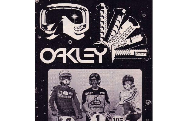 THE 50 GREATEST BMX LOGOS - OAKLEY