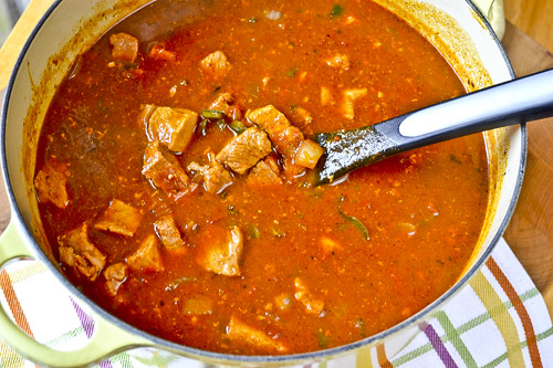 Pumpkin & Pork Chili 16