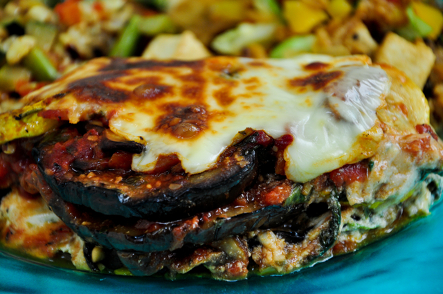 Grilled Vegetable Lasagna - The Candid Appetite