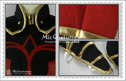 Tales of the Abyss Asch Cosplay Costume1