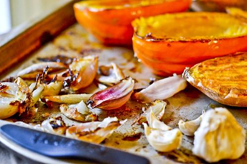Roasted Squash, Sweet Potato & Garlic Soup 15