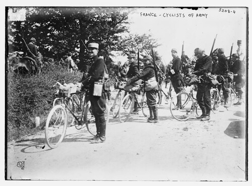 France -- Cyclists of Army