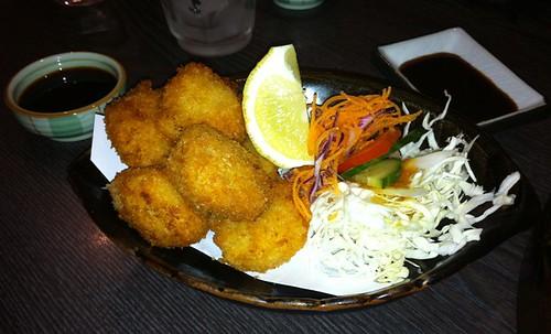 Scallops Katsu from Hanami