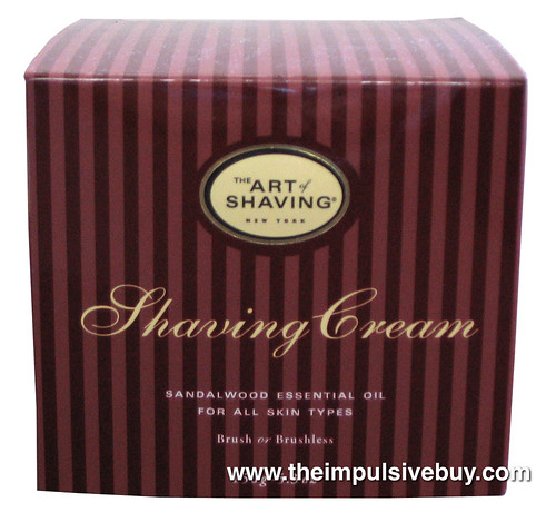 The Art of Shaving Sandalwood Shaving Cream