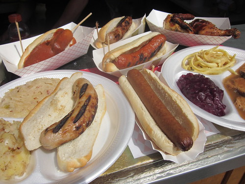 German fest food
