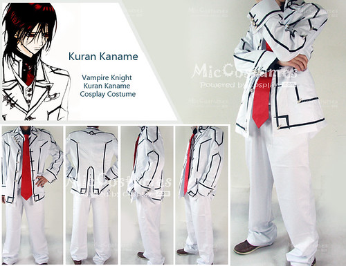 Vampire Knight Men Night Department School Uniform Cosplay