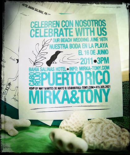 our invite