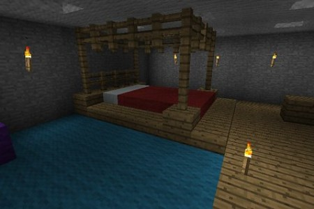gallery for > minecraft bedroom decorating ideas