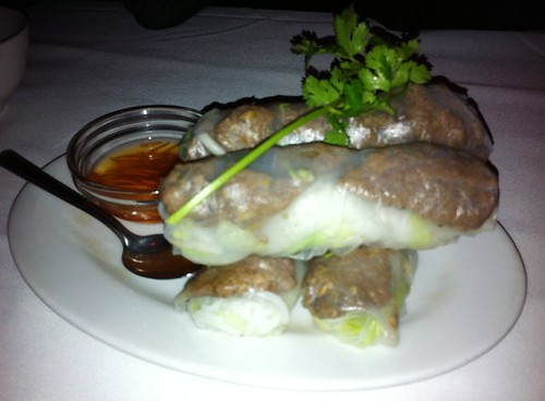 beef rolls at Little Saigon
