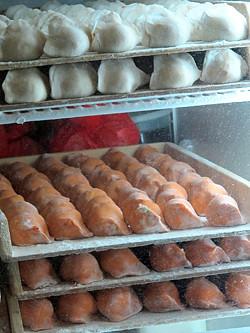 korean dumpling rack