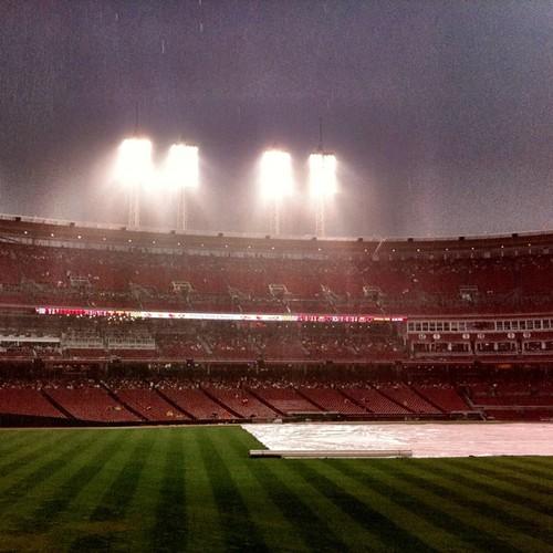 More rain delay