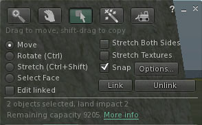 Adding a second Mesh item