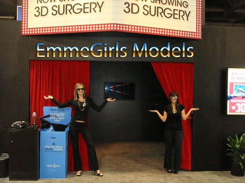 EmmeGirls Staffs Trade Show Models for Sony at American College of Surgeons ACS by EmmeGirls
