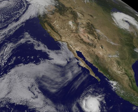 Cloud Streets and Hurricane Billow
