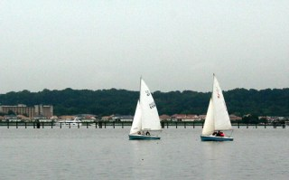Boats on the Potomac